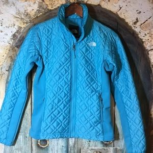 Women's The North Face Quiltedj jacket sz XS